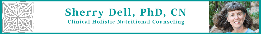 Sherry Dell, PhD, CN Logo